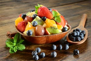 tasty bowl of fruit